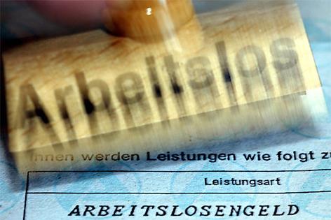 Stempel Arbeitslos Arbeitslosengeld