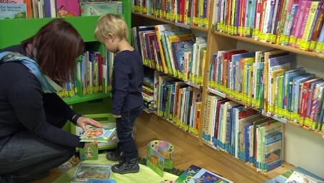 Buchstart u knjižnici Mjenovo