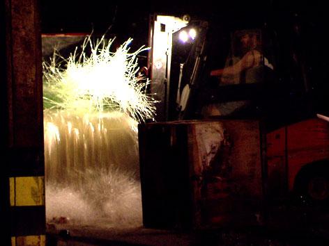Brandgefahr in Glashütte durch Stromausfall