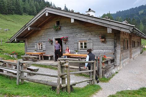Bindalm in der bayerischen Ramsau