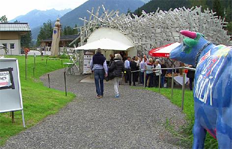 Kunst-Igel im Oberpinzgau Bramberg
