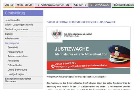Website des Hausarrests