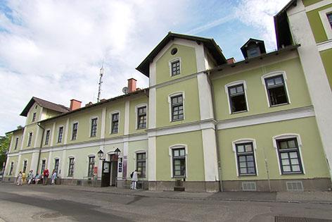 Tulln Geburtshaus Schiele Bahnhof