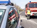 Polizei Feuerwehr Autobahn