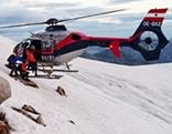 Hubschrauber Helikopter EC 135 Polizeihubschrauber Sonnblick Rauris