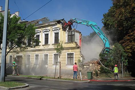 Abriss Gründerzeithaus Hietzing