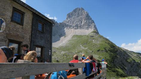 Klettersteig Lamsenspitze : Bergtour lamsenspitze karwendel pertisau radio tirol