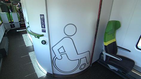Rollstuhlgerechte WC-Anlagen