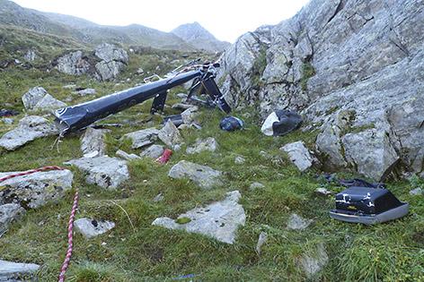 Hubschrauberabsturz Hannes Arch Schobergruppe