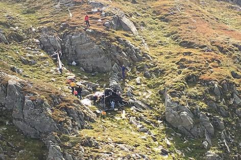 Hubschrauberabsturz Arch Schobergruppe