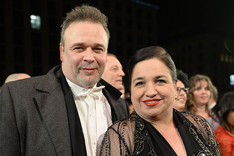 Maria Happel mit Ehemann Dirk Nocker