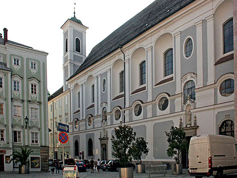 Minoritenkirche bzw. Landhauskirche in Linz