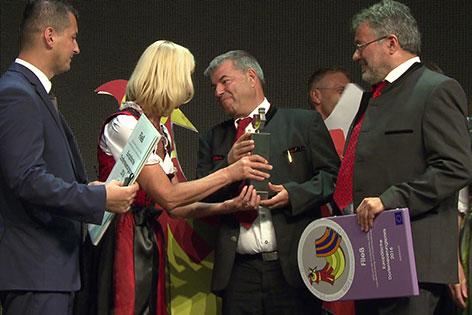 Europäischer Dorferneuerungspreis Preisverleihung Ungarn
