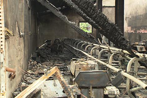 Brand Ebenthal Wirtschaftsgebäude