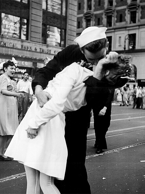 Greta Zimmer Friedmann US Krankenschwester Siegerkussfoto New York