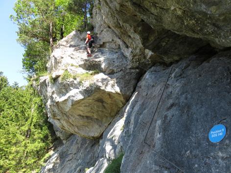 Klettersteig Tirol : Tödliche herzattacke auf klettersteig tirol orf at