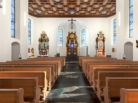 Bildstein Kirche