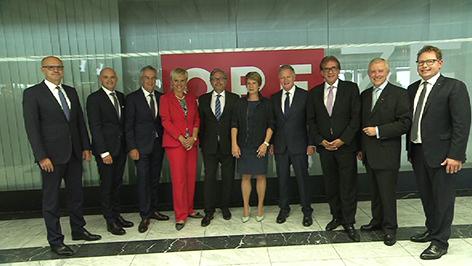 Gruppenfoto der neu bestellten Landesdirektoren