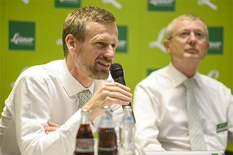 Gunnar George, CEO kika Leiner (links) und Joachim Gottlieb, Geschäftsleiter Leiner Wien 7
