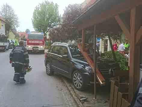 Unfall Leutschach