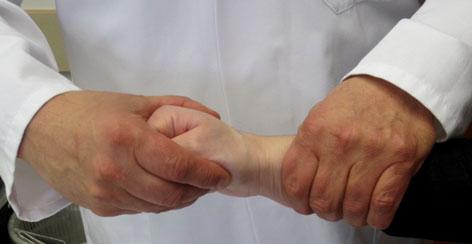 Sehnenscheidenentzündung/Quervain-Krankheit