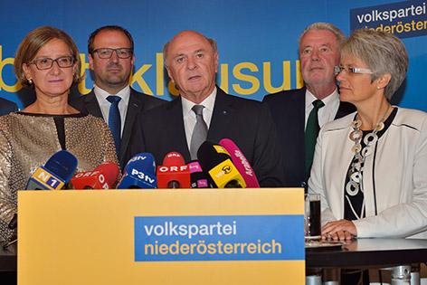 Regierungsklausur der ÖVP Niederösterreich