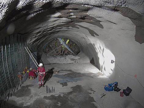 Tunnelbohrmaschine Kora Koralm