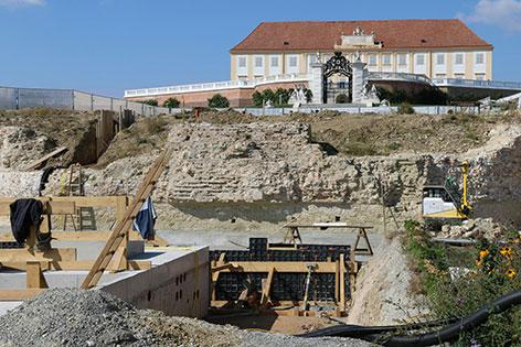 Barocke Brunnenanlage Schloss Hof