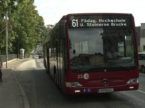 Bus Villacher Straße Busbuchten