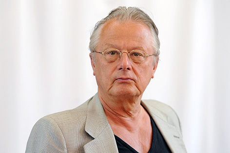 Regisseur Frank Castorf, aufgenommen am 25.07.2013 in Bayreuth