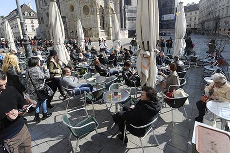 Schanigarten in Wien
