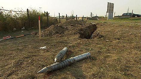 Vorbereitungen für Grenzzaun in Nickelsdorf
