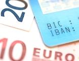 Geld Konto IBAN BIC Geldscheine Betrug Konten