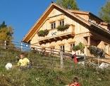 Die Wildbachhütte bei Lessach