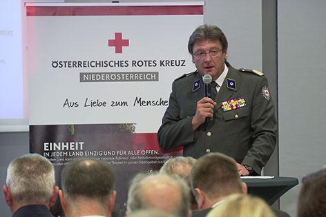 Josef Schmoll Präsident Rotes Kreuz Niederösterreich
