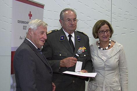 Willi Sauer Abschied ehemaliger Präsident Rotes Kreuz Niederösterreich