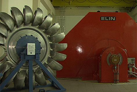 Turbine Strom Kraftwerk Hintermuhr Wasserkraft