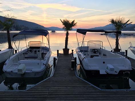 Wörthersee Motorboot
