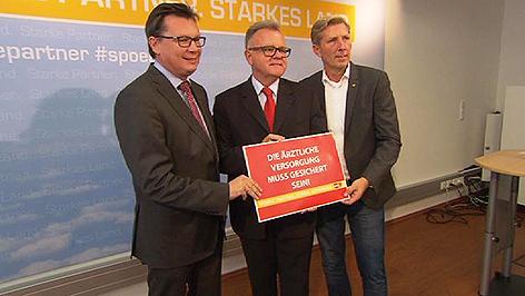 SPÖ Parteivorstand PK