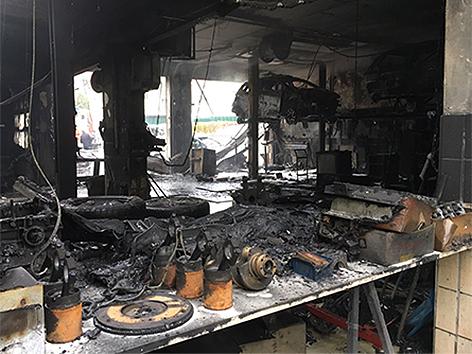 Brand Werkstätte Leutschach