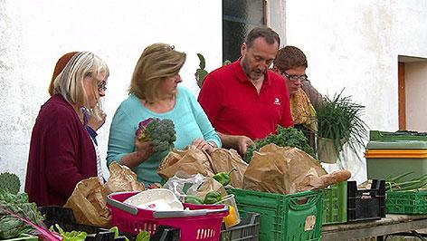Foodcoop in Wörterberg