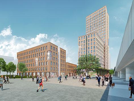 Visualisierung HoHo Wien und HoHo Next