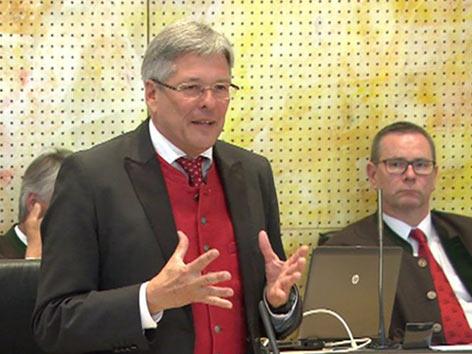 Außerordentliche Landtagssitzung Hypo Heta 10. Oktober