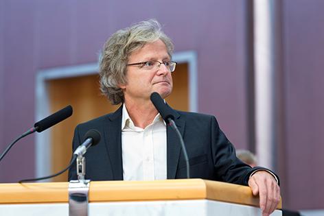 Adi Gross, Grüner Klubobmann
