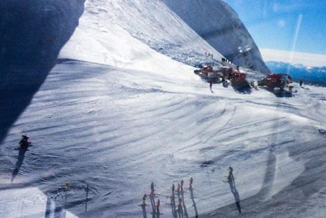 Lawine Hintertuxer Gletscher Olperer