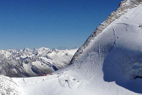 Lawine Olperer Hintertuxer Gletscher