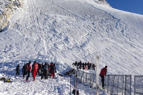 Lawine Olperer Nordgrat Hintertuxer Gletscher
