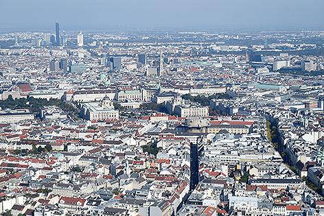 Wien Luftaufnahme