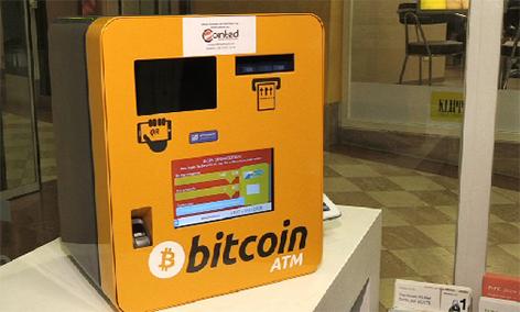 Bitcoin Automat Bitcoins Web Internet digitales Geld