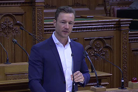 Gernot Blümel im Gemeinderat